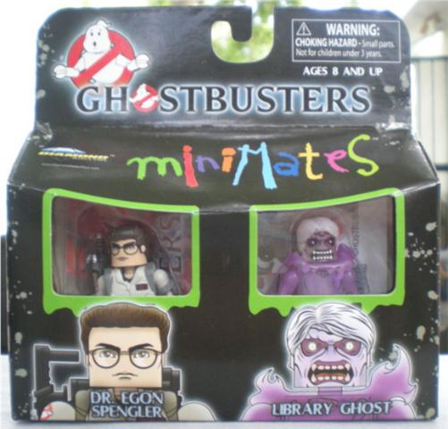 Ghostbusters Minimates TRU Wave 1 Library Ghost