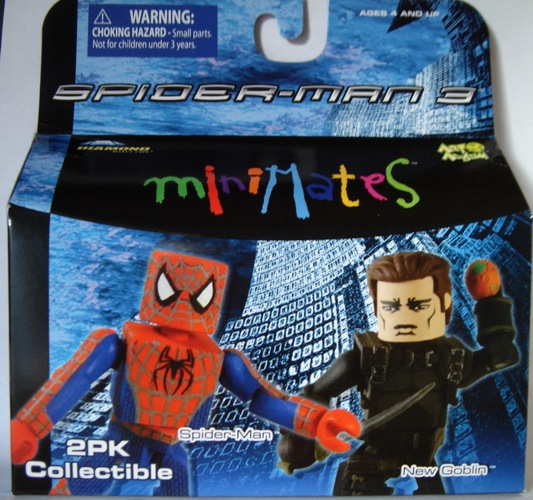Minimates Spider Man Review All The Spider Man 3 Minimates