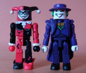 DC Minimates Series 1 Joker /& Harley Quinn